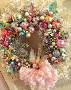 Pretty vintage wreath