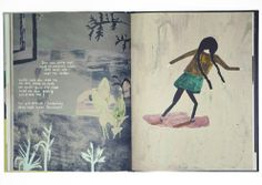 illustrator Klara Persson who had made this children's book, Molly & Sus as an degree project.
