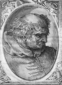 Donato Bramante (1444 – 11 March 1514) was an Italian architect, who introduced the Early Renaissance style to Milan and the High Renaissance style to Rome, where his most famous design was St. Peter's Basilica.