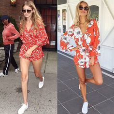 Red | Playsuit | Floral | Boho | Get the Gigi look  Shop the Hypnotizing…