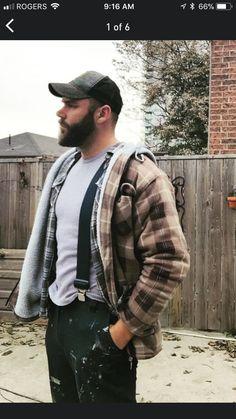 Beards, Machos, Workwear, Sheepskin, Faux Fur Fetish