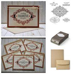 Make It Monday - Flourish Filigree Thanksgiving Note Cards (And A Little Sneak Peek!)