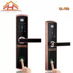 IC Card And Fingerprint Recognition Biometric Door Lock With Remote Controller Fingerprint Recognition, Safe Lock, Thermal Imaging, Alkaline Battery, Door Locks, Remote, Doors, Cards, Gate Locks