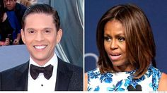 """Univision host Rodner Figueroa who compared Michelle Obama to a character in the movie """"Planet of the Apes"""" alleged Thursday that he was fired after the broadcaster received a complaint from the White House."""