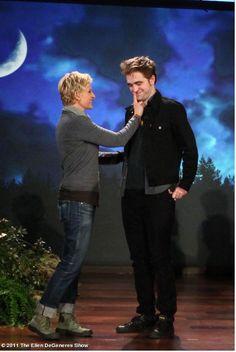 Rob on Ellen.