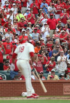 Oscar Taveras receives a standing ovation as he makes his first plate appearance in the second inning during a game between the St. Louis Cardinals and the San Francisco Giants . 5-31-14