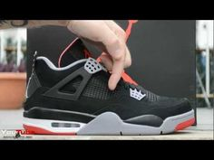 222c58e178f 2012 Air Jordan Bred IV Retro 4 Black Cements Early Review Black Cement