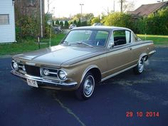 1965 Plymouth Barracuda V8 4 SPEED
