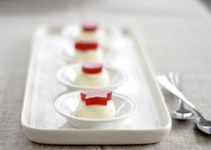 Goat Cheese Panna Cotta for Thanksgiving from The Kitchn
