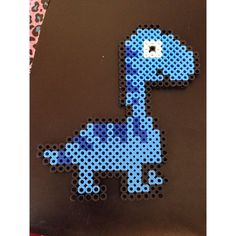 Dinosaur perler beads by crafty_k_creations