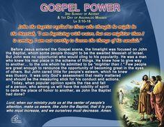 Sunday of Advent - Gaudete Sunday Third Sunday Of Advent, 1st Day, John The Baptist, Catholic, Prayers, Faith, Thoughts, Prayer, Beans
