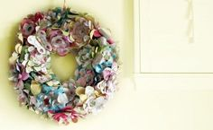 13 Cool Wreaths You Can Make Yourself - Homes and Hues