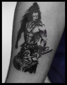 Lord Shiva tattoo