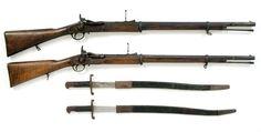 "1866 formula ""Sunaidoru gun made in UK"", used by samurai during the late Edo period."