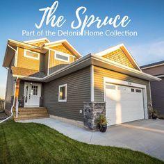 Home Collections, Custom Homes, Garage Doors, Floor Plans, Outdoor Decor, Beautiful, Instagram, Home Decor, Decoration Home
