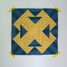 https://flic.kr/p/zHj2mH | T-block for @antstosugar's September #dogoodstitches quilt. Tutorial for this awesome block (the T is for temperance, the history of this is fascinating) can be found on Jodi's blog @talesofcloth as part of her Red Sky at Night quiltalong.