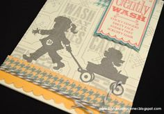 CTMH SOTM love the stamp set of the kids and how she used it. So cute!