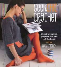 Do you have a passion for vintage fashion? If so, you're guaranteed to love the 35 patterns in Geek Chic Crochet. With a combination of cute, quirky and cozy items, you will find clothes suitable for