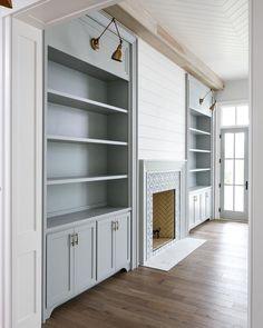 fireplace / built ins