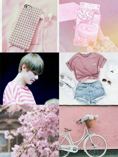 BTS V Moodboard!🌸  [If you want to repost, please give a full credit!]
