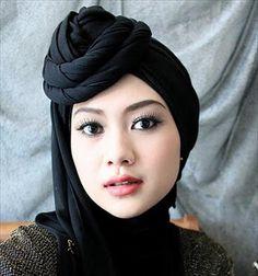 Latest Hijab Styles Tutorials & Designs 2015-2016 (17)