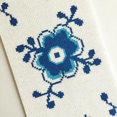 Royal Copenhagen design hama beads by brittaboutrup