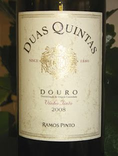 Duas Quintas from Ramos Pinto in the Douro region. Exquisite red.