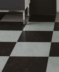 #Linoleumgolv #Forbo #Marmoleum Click Black Hole Plattor 30x30 cm