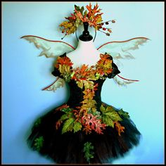FAIRY COSTUME - Woodland Faerie - Dark Beauty - adult cap sleeve corset in size small