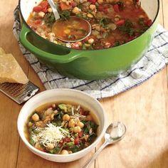 Smoky Farro and Chickpea Soup | CookingLight.com