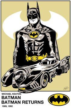 Batman - Michael Keaton - 1989, 1992