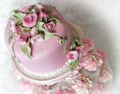 Stacey's Sweet Shop - Truly Custom Cakery, LLC: Romantic Rose Cupcake Tree