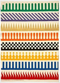 freakyfauna:  Pattern by Alexander Girard for Herman Miller (1964). Found here.