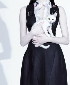 Photographed by Jean-Baptiste Mondino for Jalouse April 2013