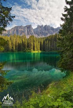 The green lake by Marco Melegari on 500px  )