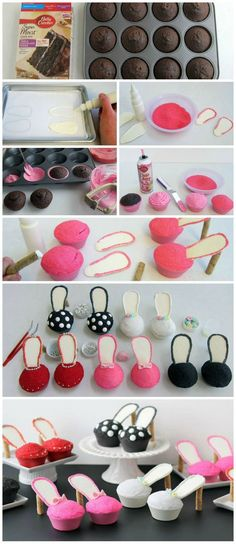 Stiletto Cupcakes | #cupcakes #Stiletto