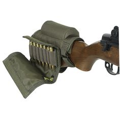 Voodoo Tactical Buttstock Cheek Rest with Ammo Carrier Case