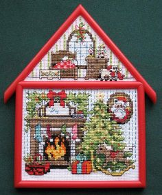 christmas+cottage.png (521×631)