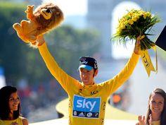Bradley Wiggins first British cyclist to win Tour de France in 2012 Winning Time, Bradley Wiggins, Digital News, Champs Elysees, Grand Tour, Sport, Twenty One, Athlete, Sports