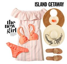 """Island getaway"" by miee0105 ❤ liked on Polyvore featuring Hollister Co., Sophie Anderson, Jack Rogers and Eugenia Kim"