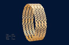 Gold For Jewelry Making Info: 1306119303 Gold Bangles For Women, Gold Bangles Design, Gold Earrings Designs, Gold Jewellery Design, Gold Wedding Jewelry, Gold Jewelry, Stylish Jewelry, Jewelry Making, Collections