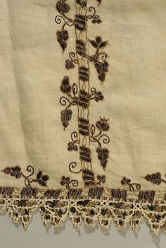 BlouseDate:     late 16th century Culture:     Italian Medium:     silk, linen, metal thread Dimensions:     Length: 46 1/2 in. (118.1 cm) Width: 62 in. (157.5 cm) Credit Line:     Gift of Mrs. Edwin O. Holter (Sarah Sage), 1941