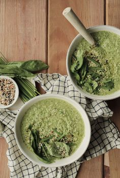 The Big Green Immunity-Boosting Vegetable Soup I've Been Making Every Sunday - Camille Styles Green Veggies, All Vegetables, Super Healthy Recipes, Easy Recipes, Good Enough To Eat, Savoury Dishes, Plant Based Recipes, Soups And Stews, Healthy Salads
