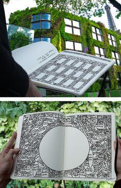 Anatomy of a green façade, the process of Patrick Blanc