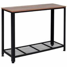 Union Rustic Jeremiah Console Table | Wayfair.co.uk Console Table, Table Console Blanche, Table Console Extensible, Console Vintage, Table Vintage, Console Design, Table Cafe, Dresser Desk, Industrial Style