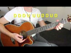 Taylor Swift - Red - Guitar Lesson - Acoustic Guitar Tutorial - Easy Open Chord with Capo Song