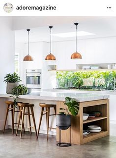 4 Easy And Cheap Unique Ideas: False Ceiling Diy false ceiling kitchen wall colors.False Ceiling Lights Home Theaters false ceiling diy home.Simple False Ceiling For Office. Small Farmhouse Kitchen, Country Kitchen, New Kitchen, Farmhouse Design, Country Farmhouse, Kitchen Island, Modern Farmhouse, Boho Kitchen, Awesome Kitchen