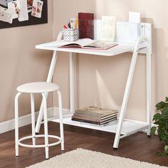 Manila Compact Desk & Adjustable Stool