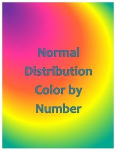 Students will forget they are doing math problems while working through this fun color by number activity.  Each answer to a question will require the student to shade a portion of the diagram in the indicated color.Questions ask for responses as a percentage of the population and approximations of the number of people/items in the given set.