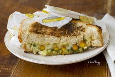 Grilled carrot sandwich